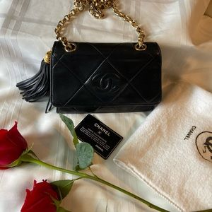 Chanel vintage flap (small)